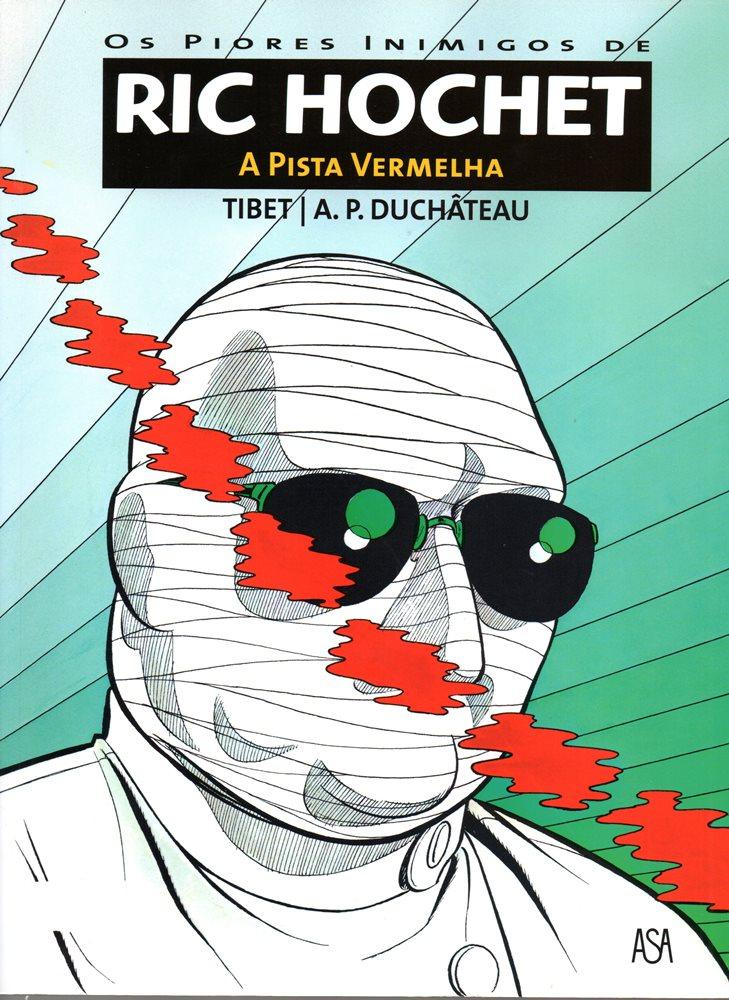 RIC HOCHET - 24 . PISTA VERMELHA (A)