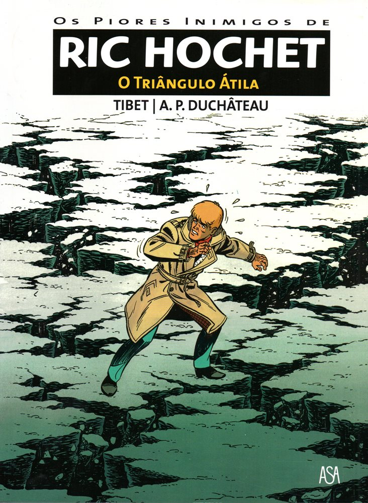 RIC HOCHET - 45 . TRIÂNGULO ÁTILA (O)