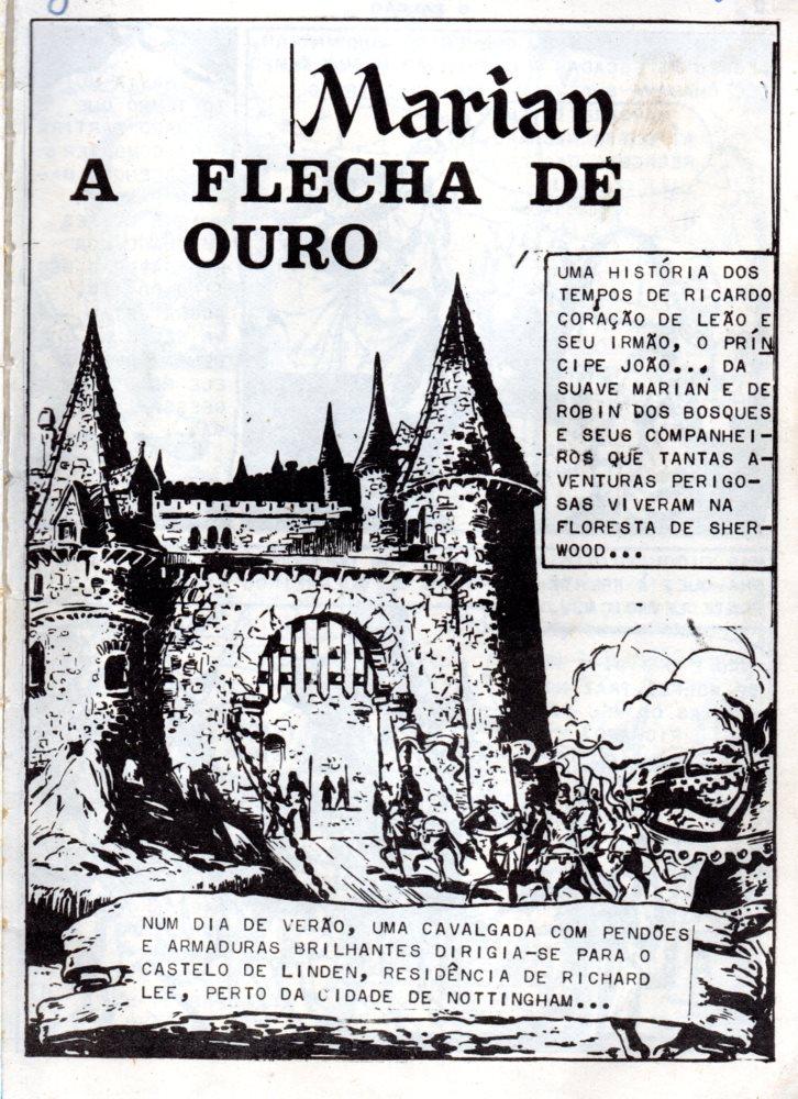 Prancha de: ROBIN DOS BOSQUES - 31 . FLECHA DE OURO (A)