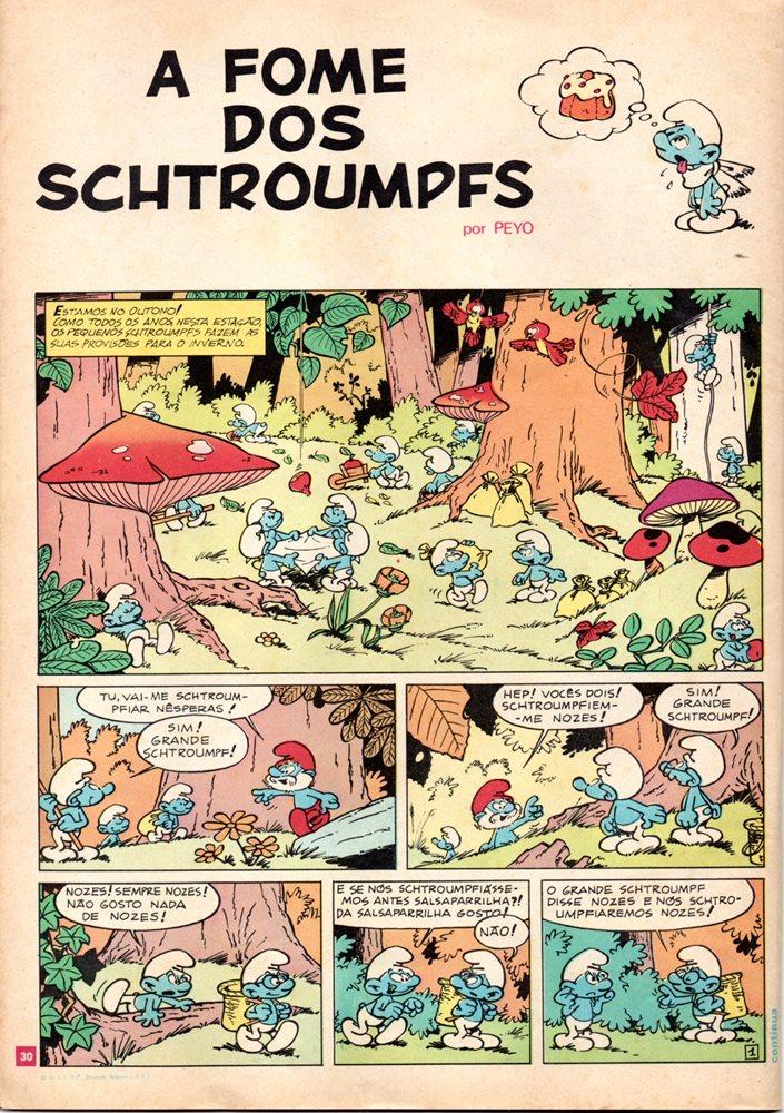 Prancha de: SCHTROUMPFS - 2 . ESTRUMPFÍSSIMO + FOME DOS SCHTROUMPFS (A)
