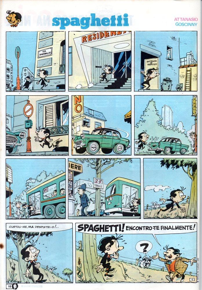Prancha de: SPAGHETTI - 2 . SPAGHETTI E O TACÃO DE ACHILLE