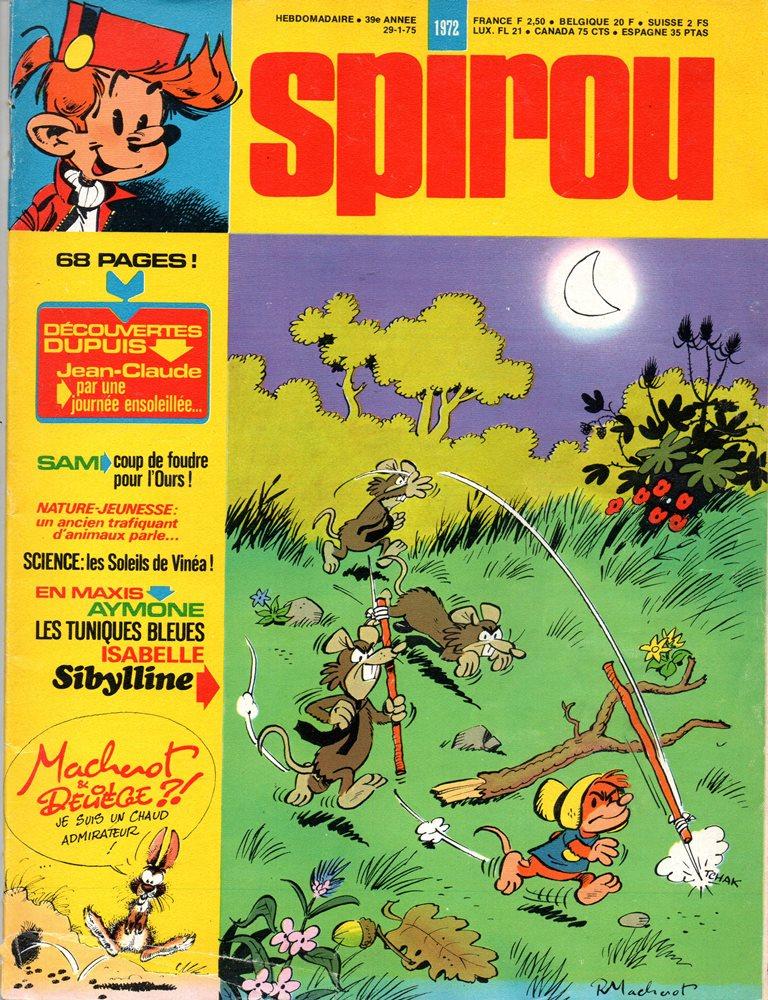 Spirou 1972
