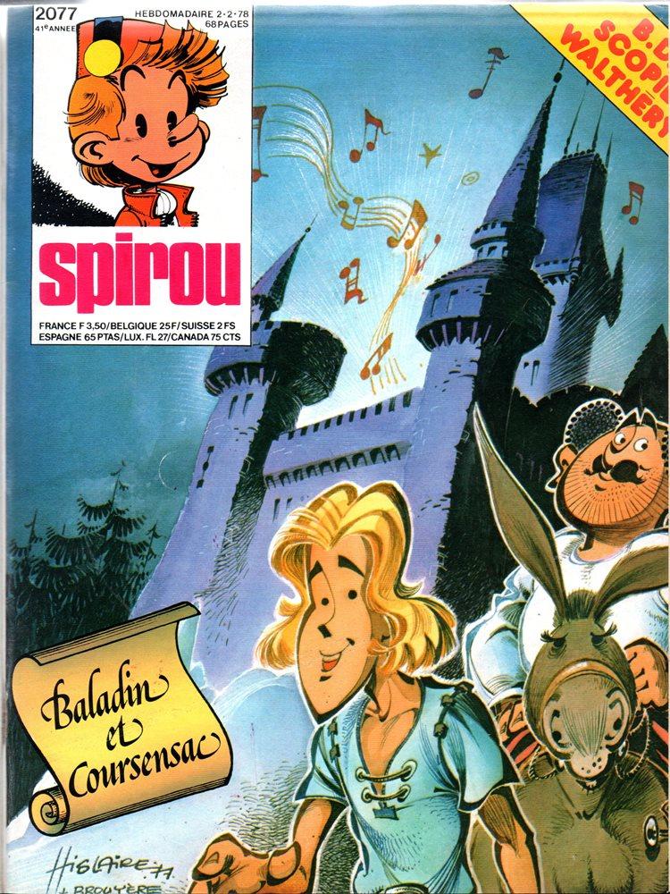 SPIROU - BÉLGICA2077