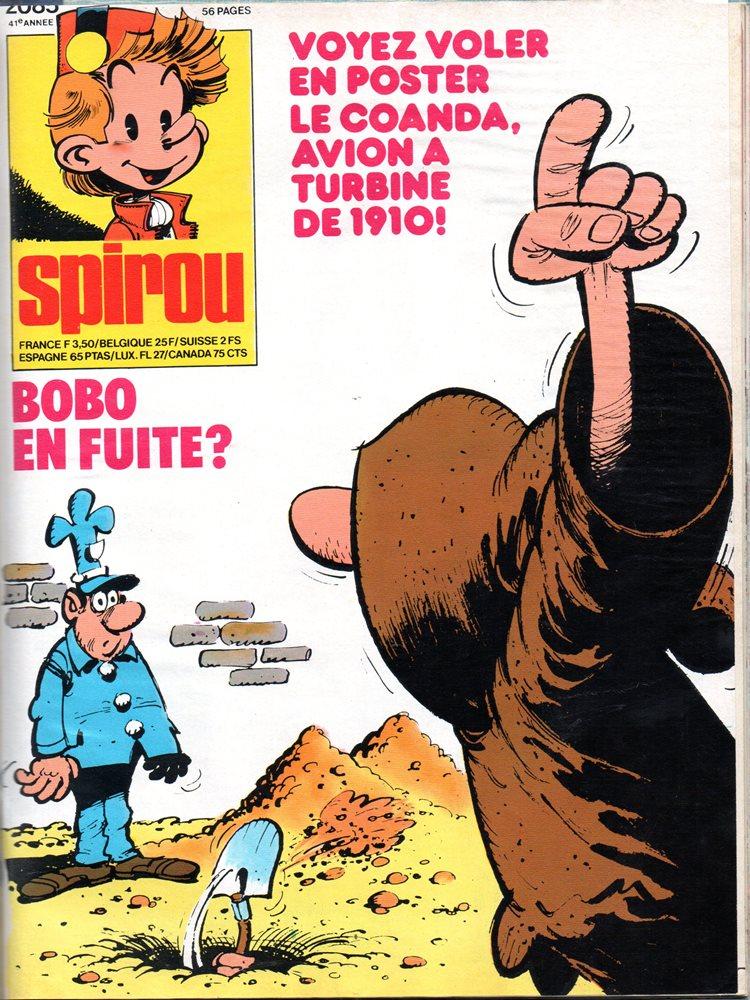 BOBO - SPIROU - BÉLGICA . N.º 2085