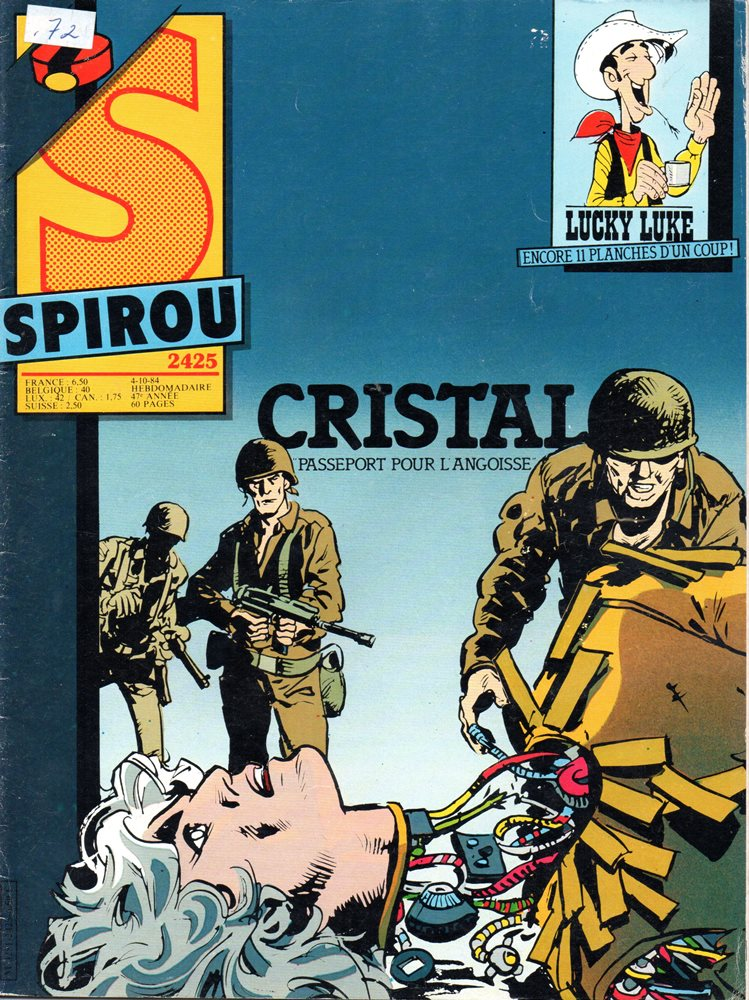CRISTAL - 3 . PASSEPORT POUR L'ANGOISSE