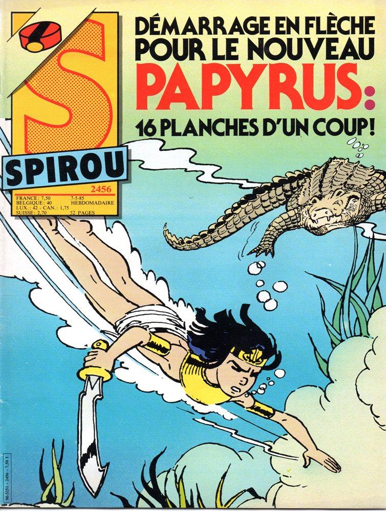 PAPYRUS - 8 . MÉTAMORPHOSE D'IMHOTEP (LA)