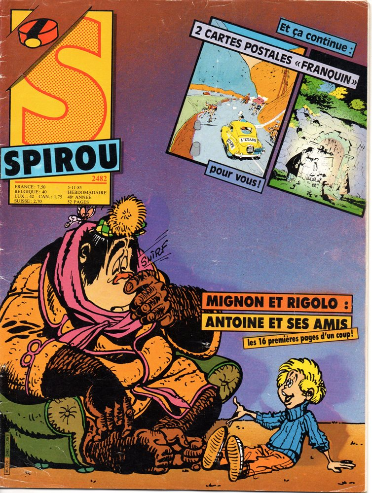 SPIROU - BÉLGICA2482