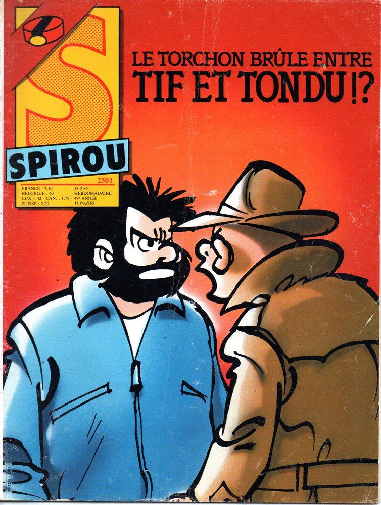 TIF E TONDU - 38 . DANS LES GRIFFES DE LA MAIN BLANCHE