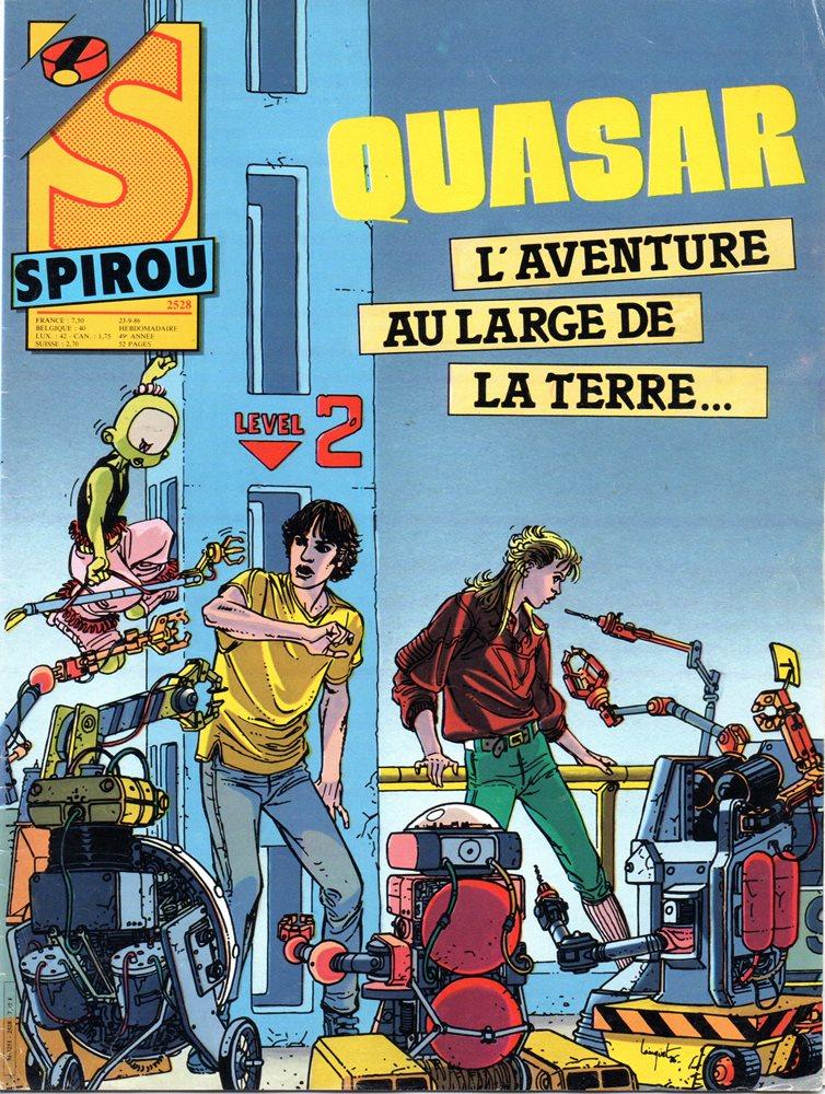 QUASAR - SPIROU - BÉLGICA . N.º 2528