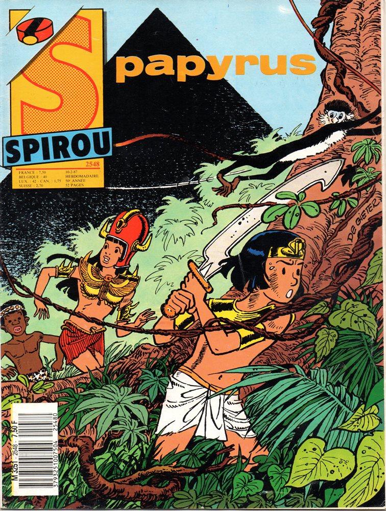 PAPYRUS - 10 . PYRAMIDE NOIRE (LA)