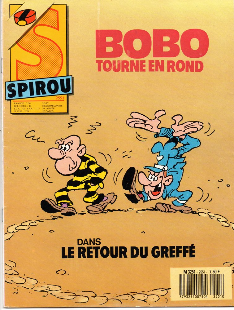BOBO - 13 . RETOUR DE GREFFÉ (LE)