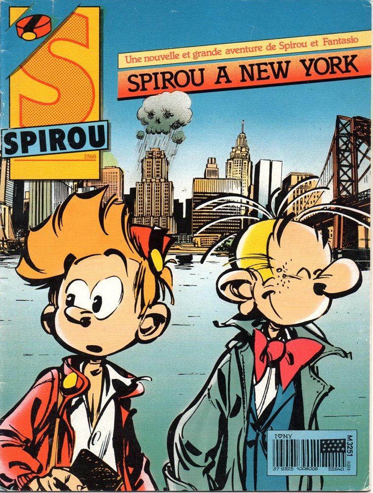 SPIROU E FANTASIO - 39 . SPIROU À NEW YORK