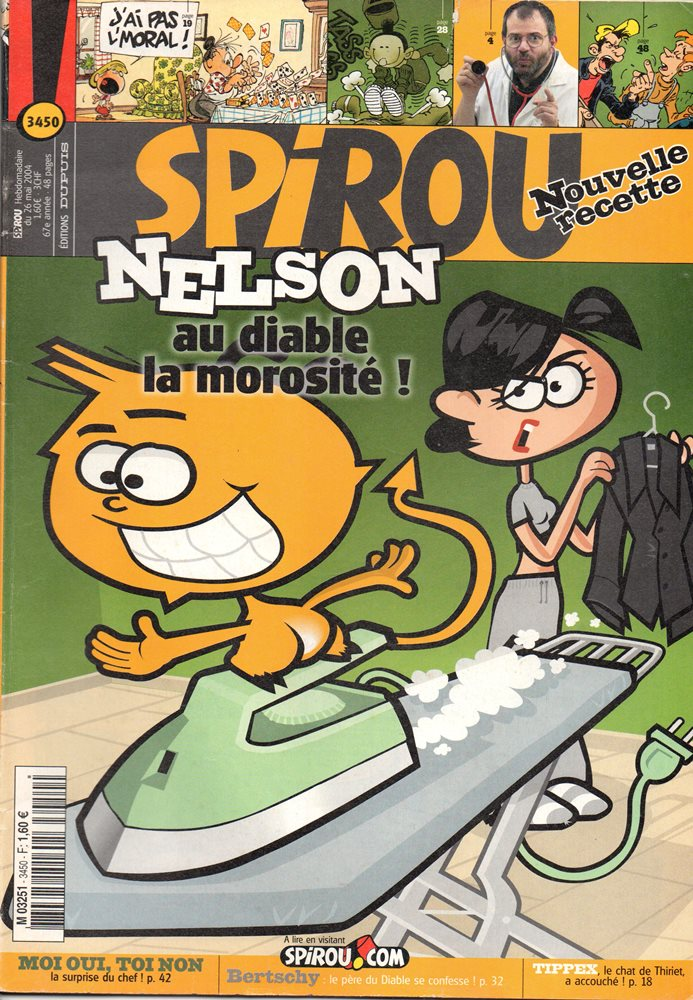 NELSON - SPIROU - BÉLGICA . N.º 3450