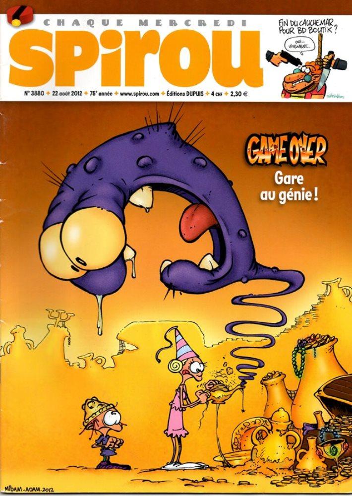 GAME OVER - SPIROU - BÉLGICA . N.º 3880