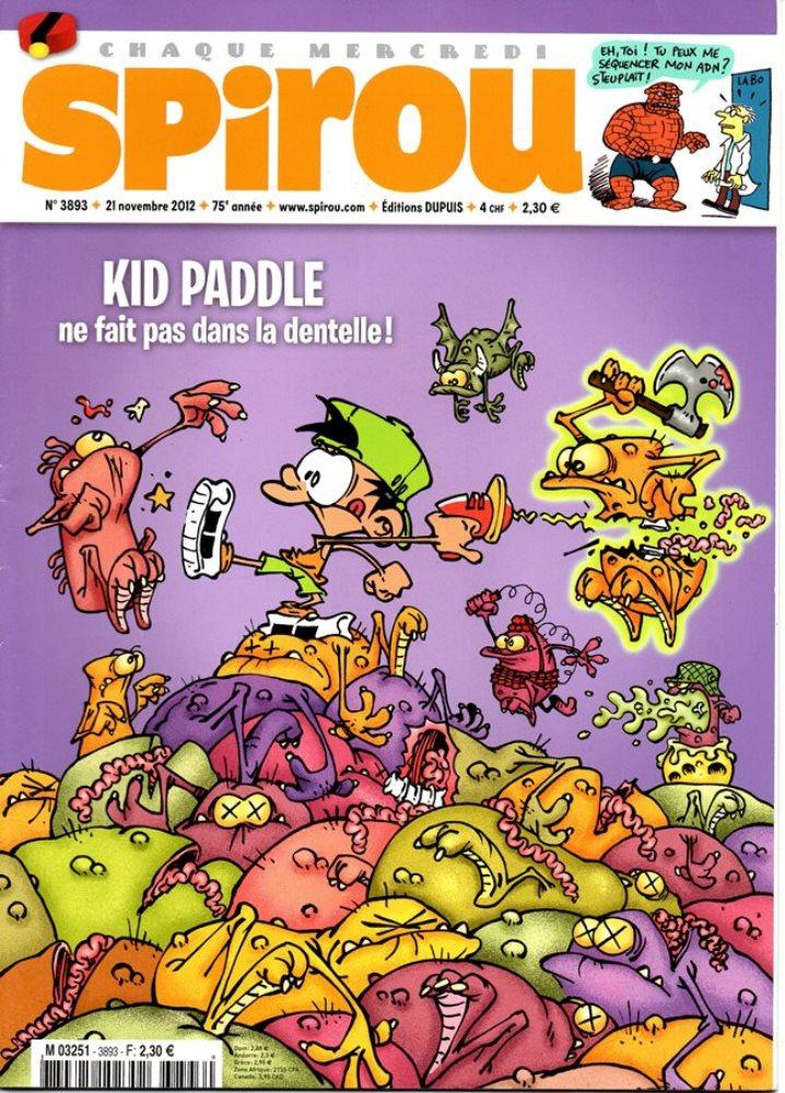 KID PADDLE - SPIROU - BÉLGICA . N.º 3893