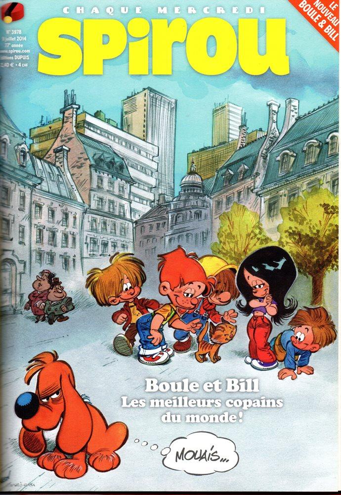 BOULE E BILL - SPIROU - BÉLGICA . N.º 3978