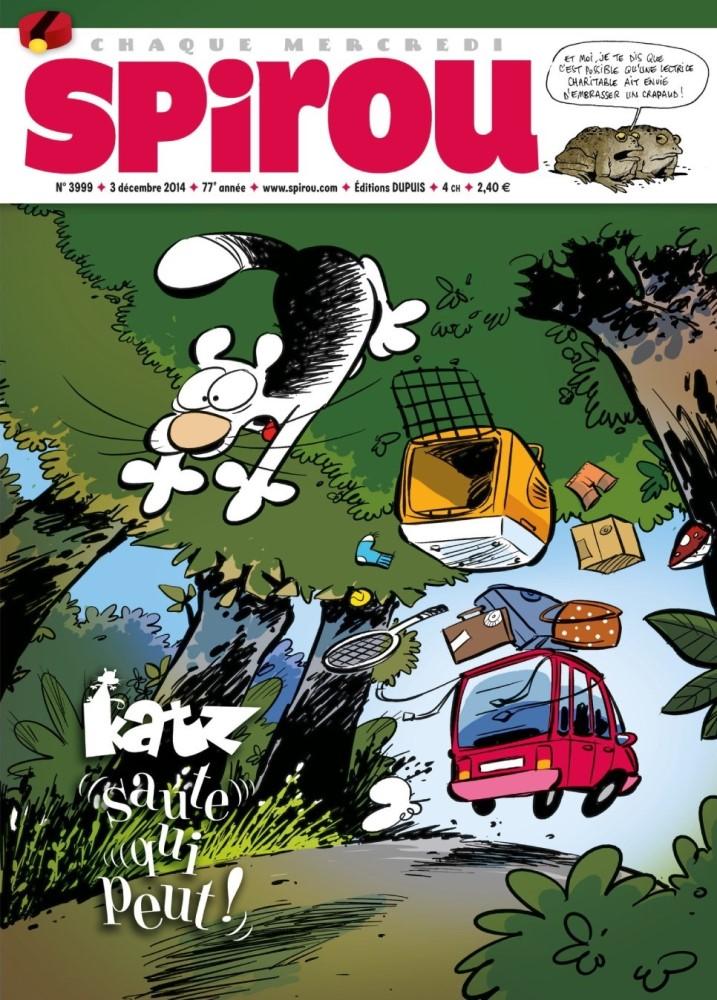 KATZ - SPIROU - BÉLGICA . N.º 3999