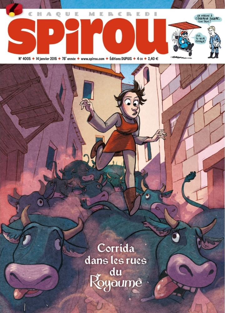 SPIROU - BÉLGICA4005