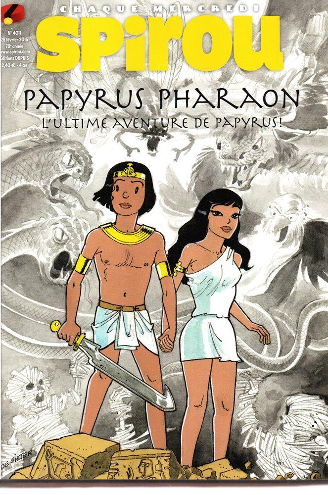 PAPYRUS - 33 . PAPYRUS PHARAON