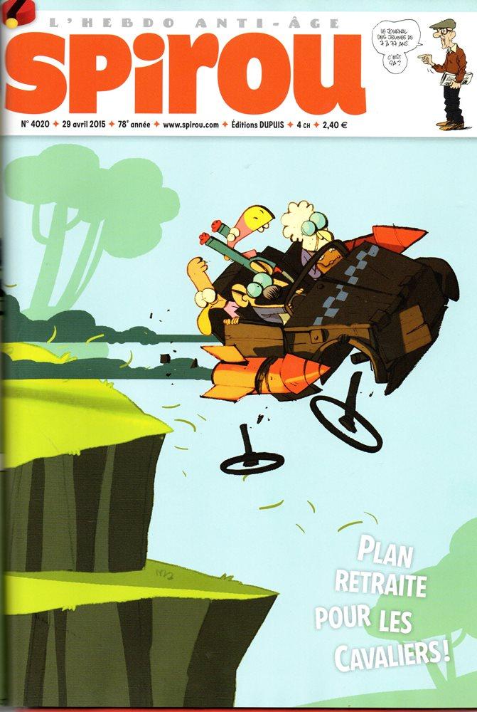 CAVALIERS DE LE APOCADISPE (LES) - SPIROU - BÉLGICA . N.º 4020