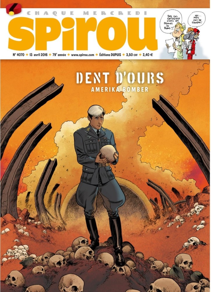 DENT DE OURS - 4 . AMERIKA BOMBER