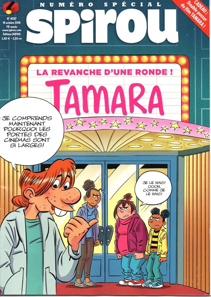 TAMARA - SPIROU - BÉLGICA . N.º 4097