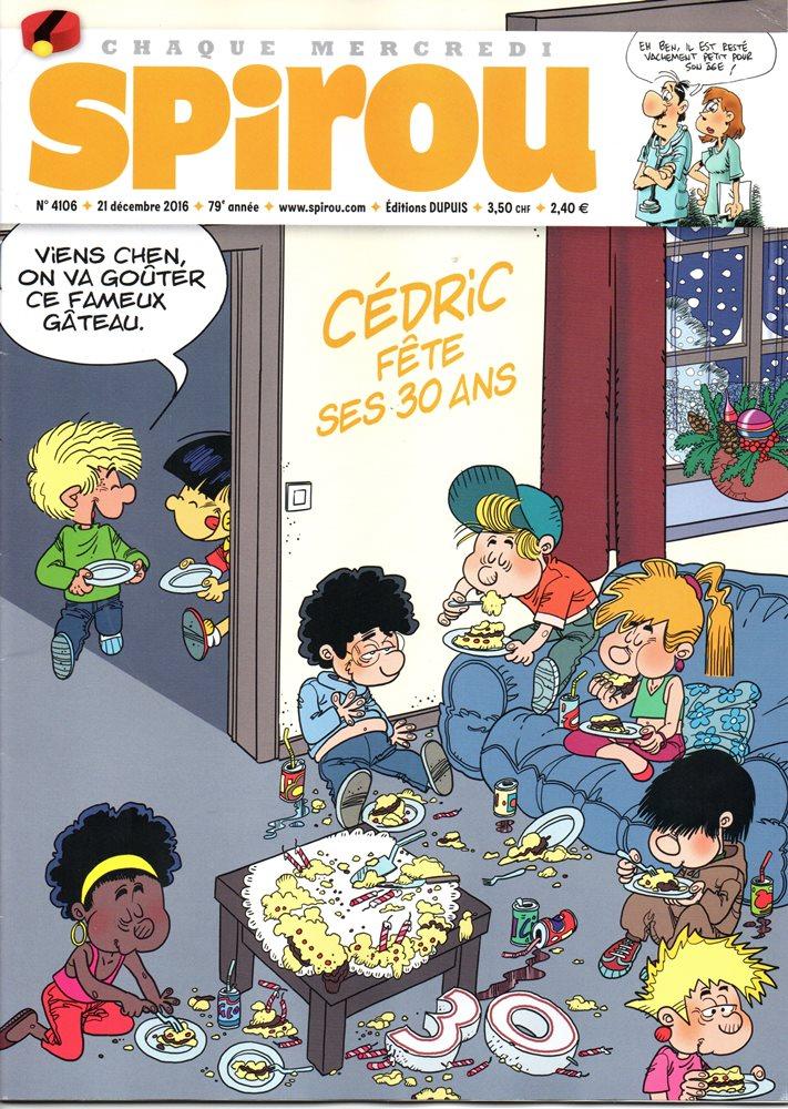CÉDRIC - SPIROU - BÉLGICA . N.º 4106