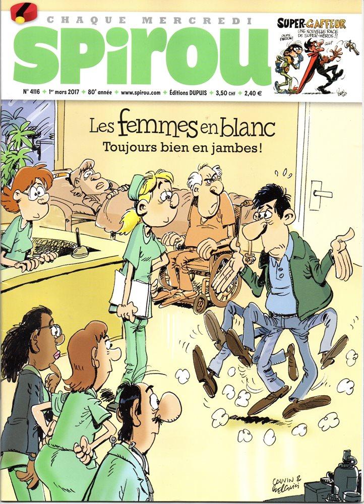 FEMMES EN BLANC (LES) - SPIROU - BÉLGICA . N.º 4116