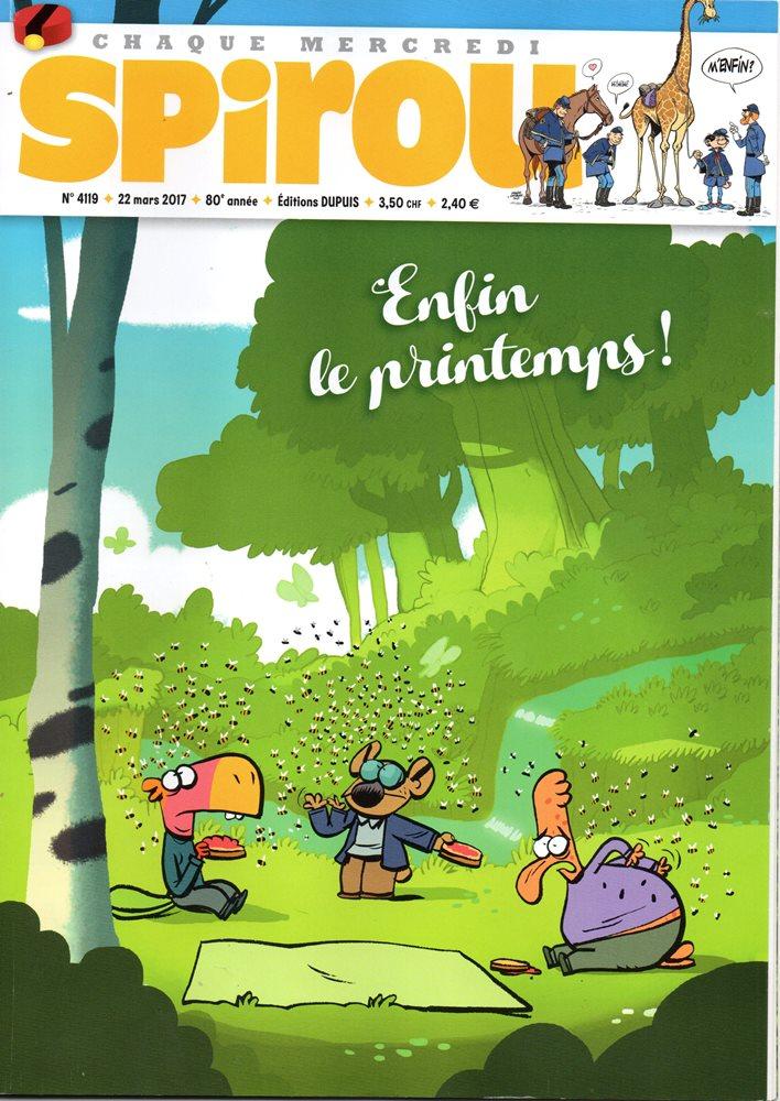 CAVALIERS DE LE APOCADISPE (LES) - SPIROU - BÉLGICA . N.º 4119