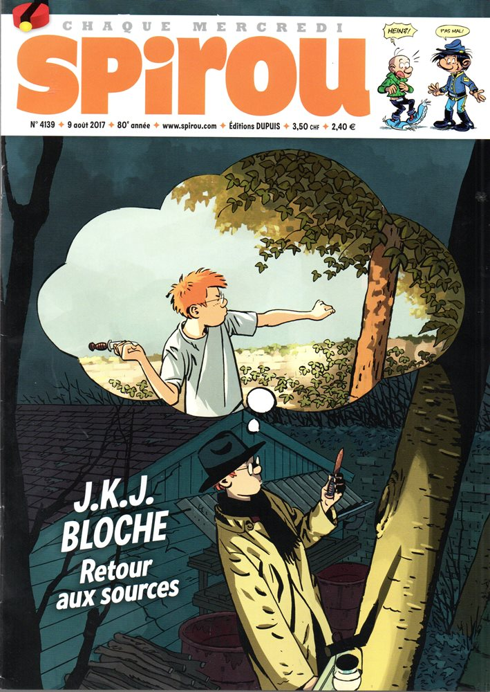 JÉRÔME K. JÉRÔME BLOCHE - 26 . COUTEAU DANS LE ARBRE (LE)