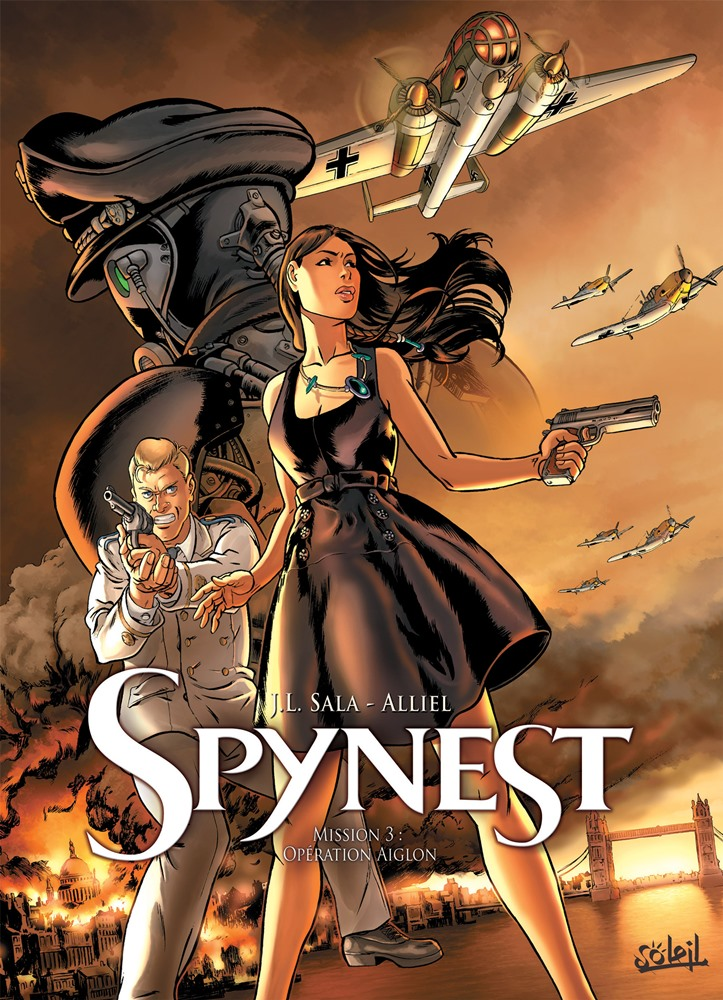 SPYNEST - 3 . MISSION 3: OPÉRATION AIGLON