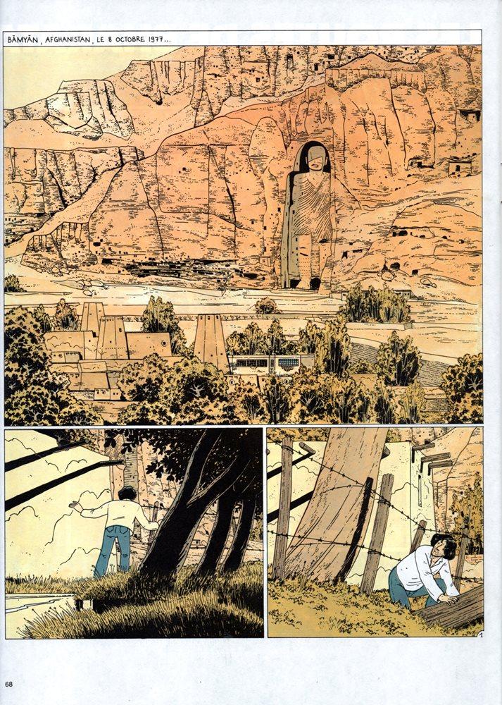 Prancha de: STÉPHANE CLÉMENT - 4 . ROUTES DE BHARATA (LES)