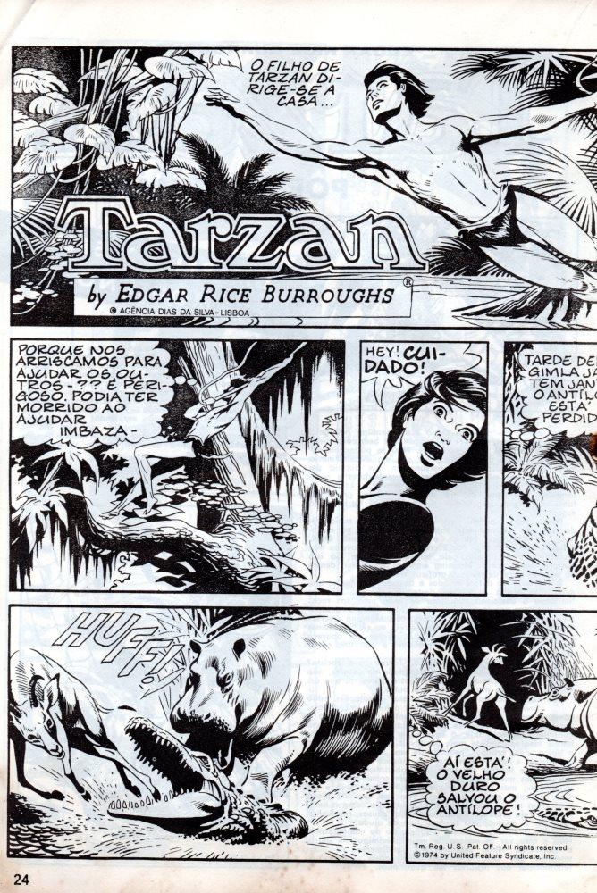 Prancha de: TARZAN - 4 . TARZAN (ORIGINAL)