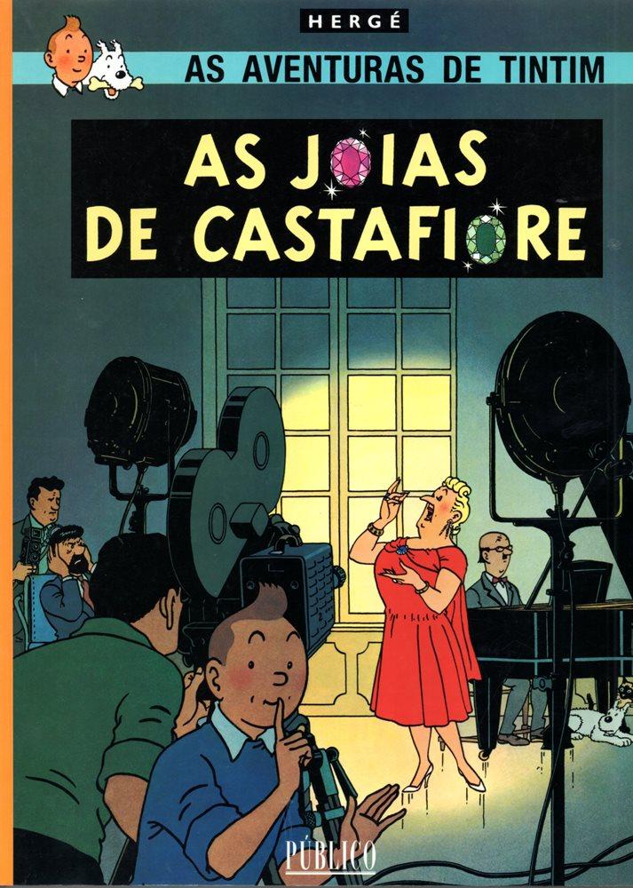 TINTIN - 21 . JÓIAS DA CASTAFIORE (AS)