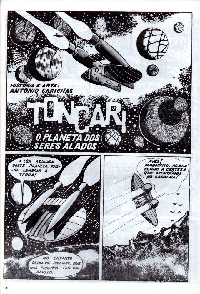 Prancha de: TONCARI - 3 . PLANETA DOS SERES ALADOS (O)