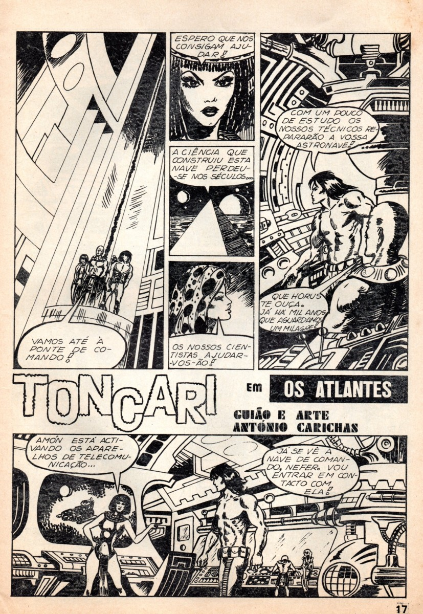 Prancha de: TONCARI - 5 . ATLANTES (OS)