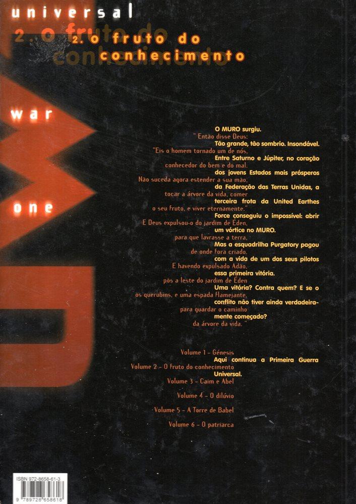 Prancha de: UNIVERSAL WAR ONE - 2 . FRUTO DO CONHECIMENTO (O)