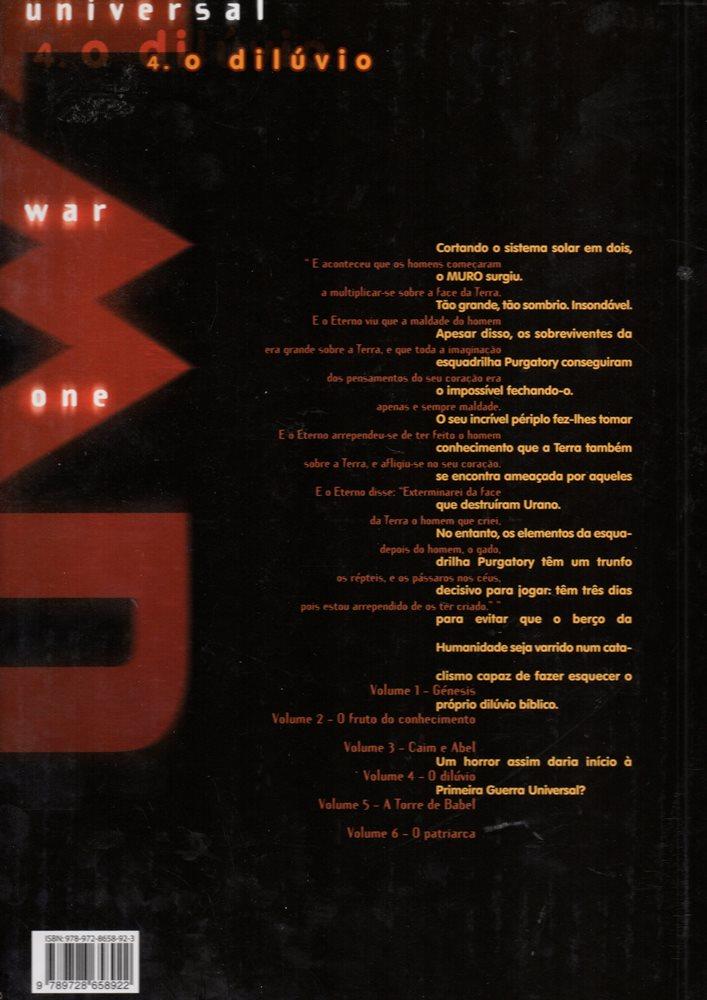 Prancha de: UNIVERSAL WAR ONE - 4 . DILÚVIO (O)