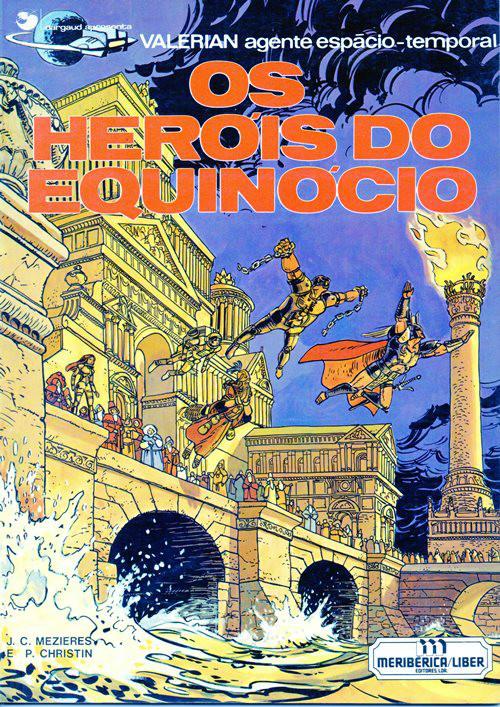 Capa  VALÉRIAN - 8 . HERÓIS DO EQUINÓCIO (OS)