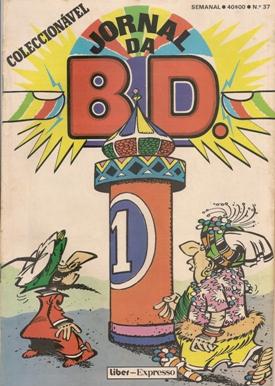 IZNOGOUD - JORNAL BD . N.º 37