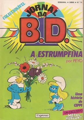 SCHTROUMPFS - 3 . ESTRUMPFINA (A)