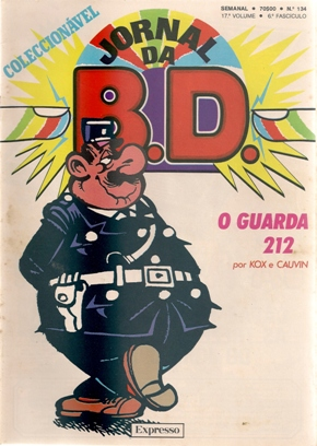 GUARDA 212 - JORNAL BD . N.º 134