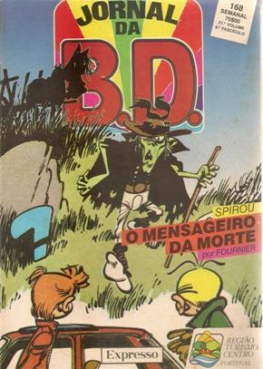 SPIROU E FANTASIO - 27 . MENSAGEIRO DA MORTE (O)