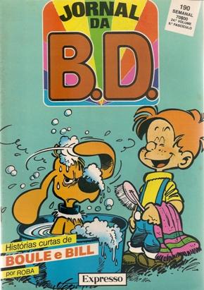 BOULE E BILL - JORNAL BD . N.º 190