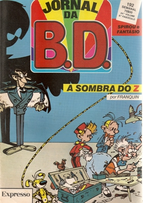 SPIROU E FANTASIO - 16 . SOMBRA DO Z (A)