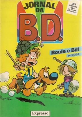BOULE E BILL - JORNAL BD . N.º 205