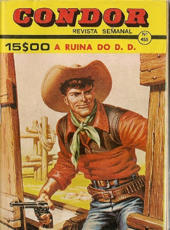 Capa de: TEX TONE - 2 . RUINA DO D. D.