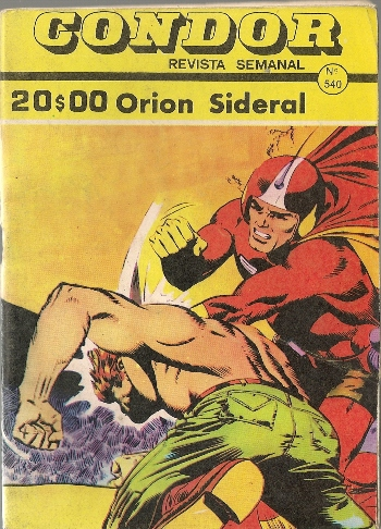 Capa de: SUPER BOY - 23 . ORION SIDERAL