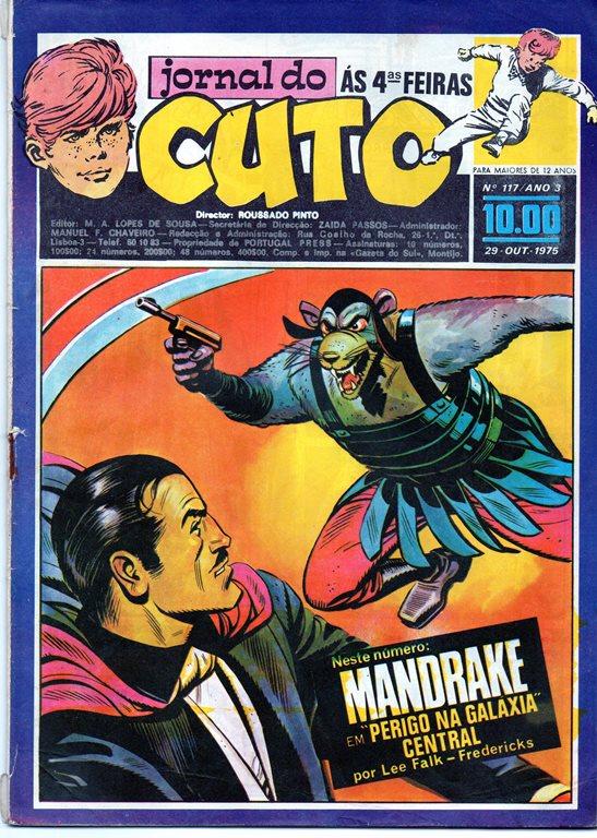 MANDRAKE - 48 . NA GALÁXIA CENTRAL A 30000 ANOS LUZ