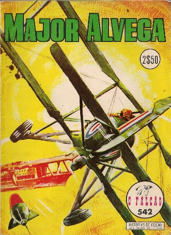 Capa de: MAJOR ALVEGA - 19 . NAS ILHAS DO PACÍFICO